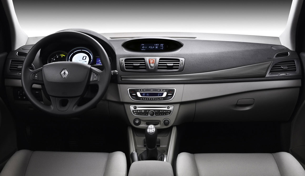 Renault Megane Estate Interior Car Body Design