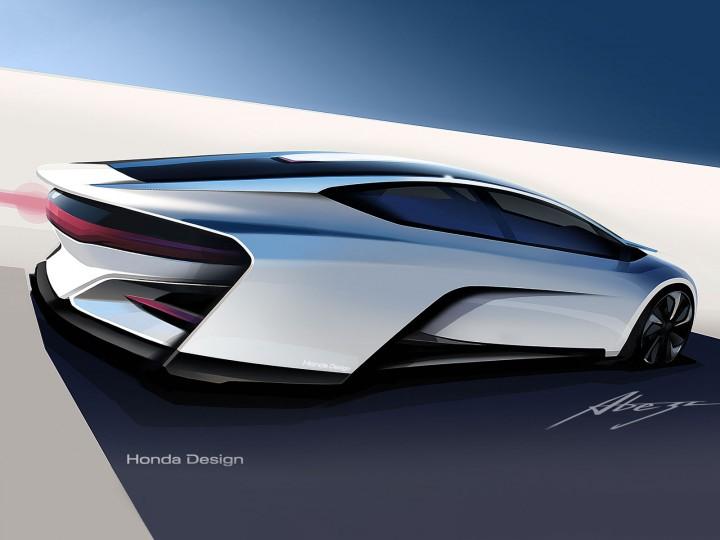 Honda fcev concept car body design for Future honda cars